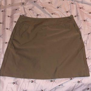 Nike Golf skirt-khaki